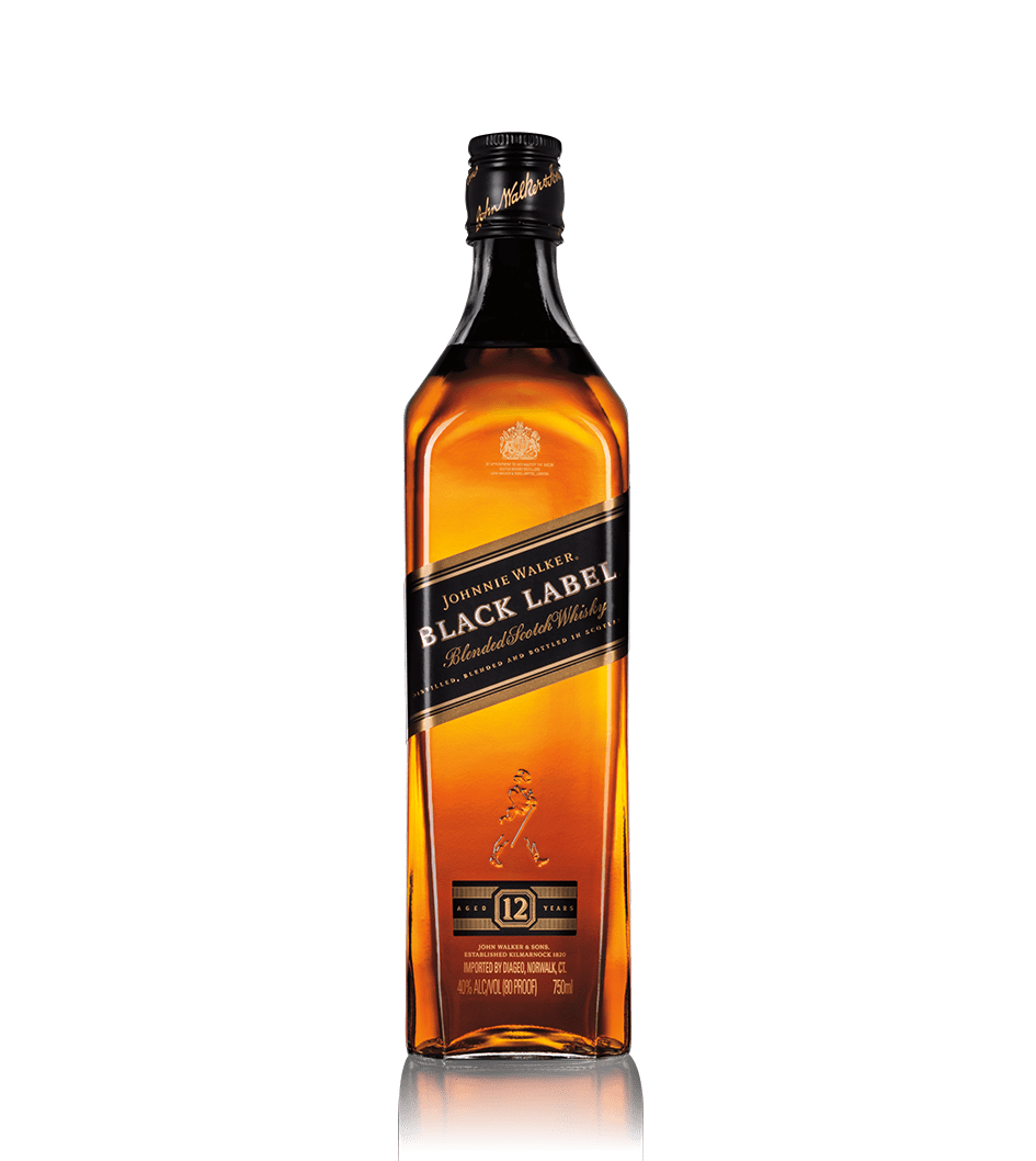 Bouteille de whisky Johnnie Walker Black Label