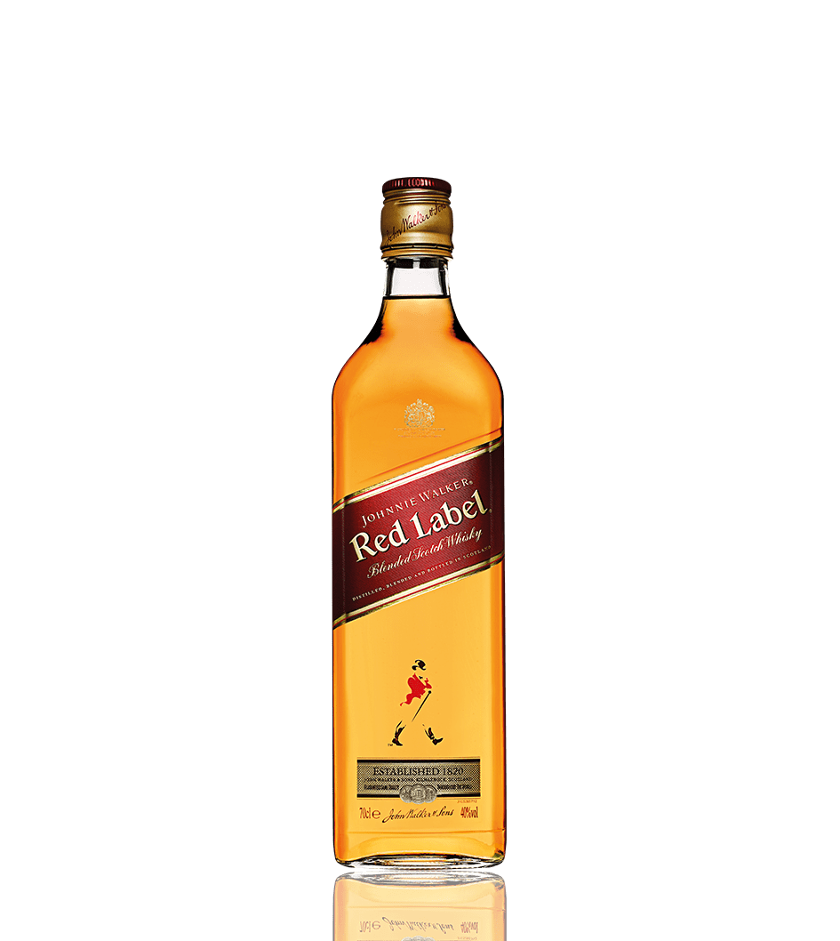 Fles Johnnie Walker Red Label whisky