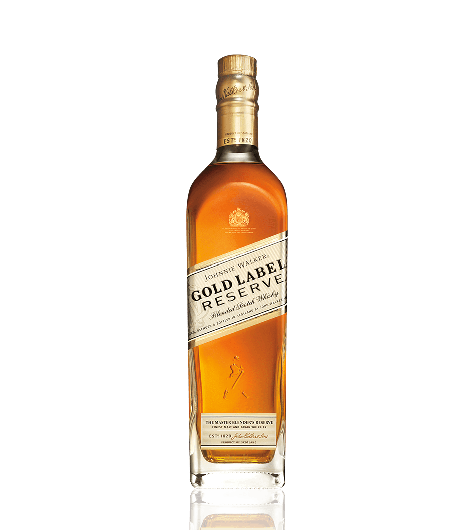 Botella de whisky Johnnie Walker Gold Label Reserve
