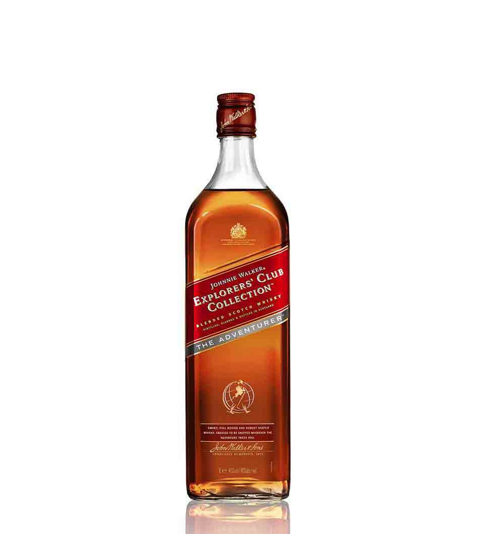 Bottle of Johnnie Walker Explorers' Club Collection - The Adventurer whisky
