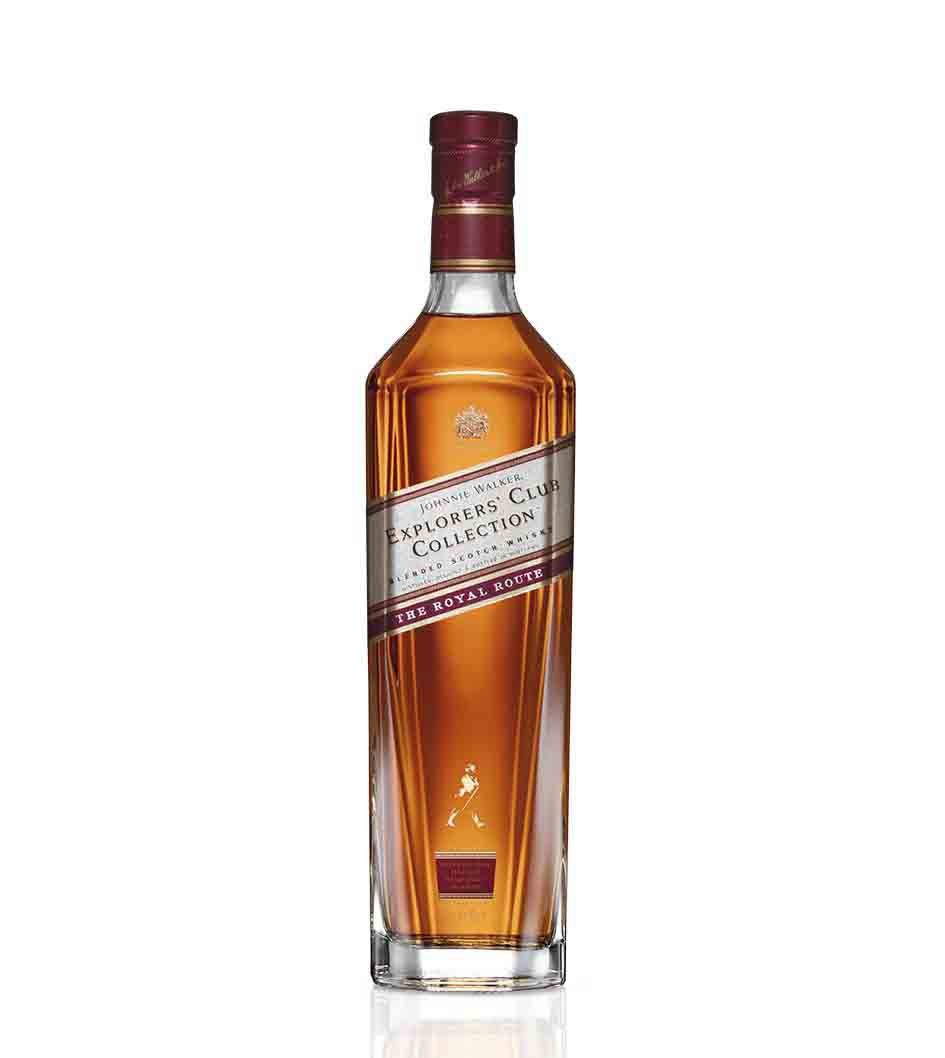 Botella de whisky Johnnie Walker Explorers' Club Collection - The Royal Route