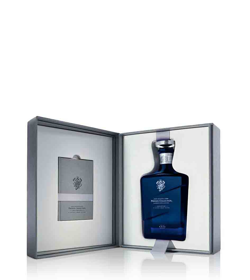 Gift pack of John Walker & Sons Private Collection 2014 Edition whisky
