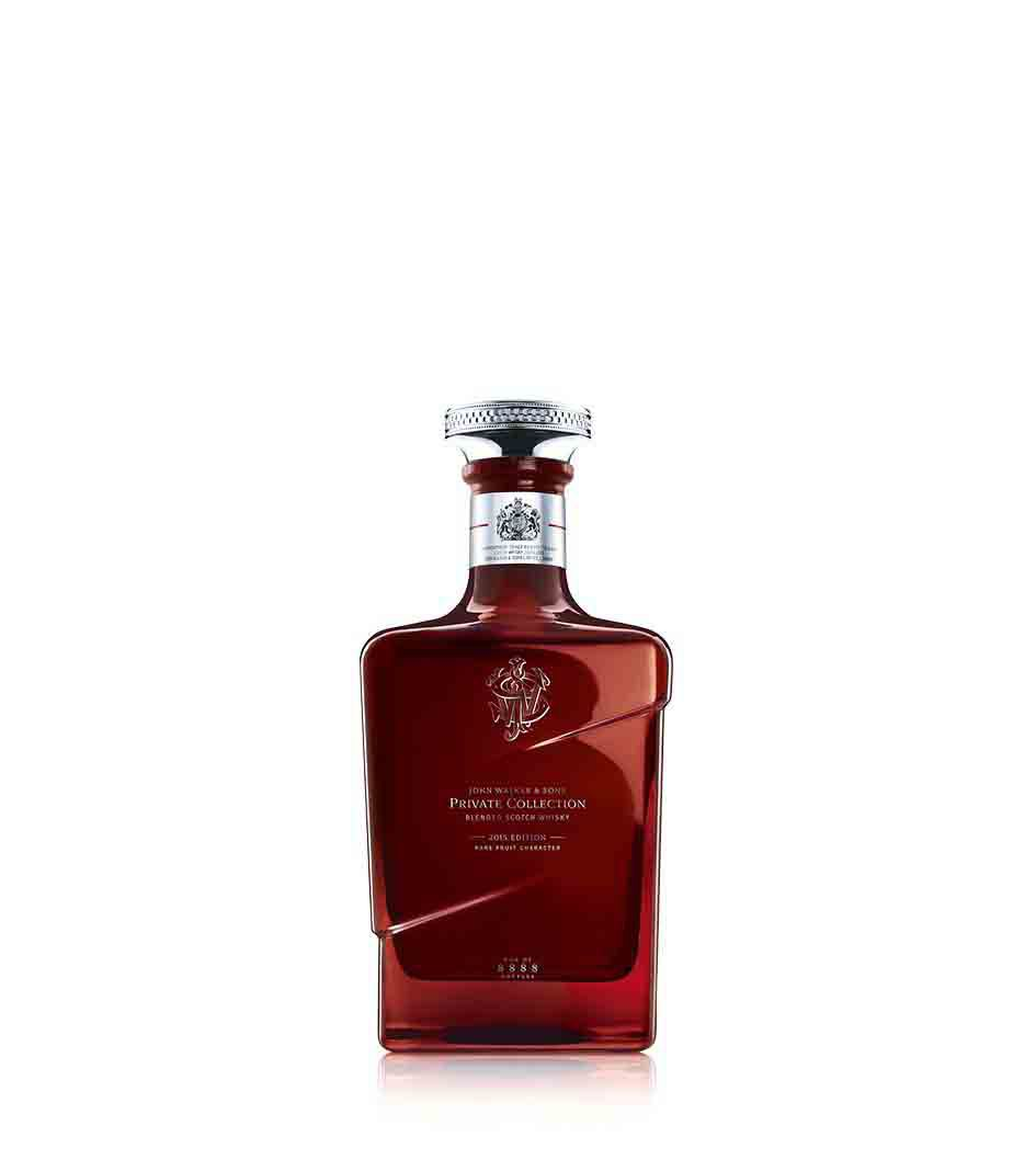 Bottle of John Walker & Sons Private Collection 2015 Edition whisky