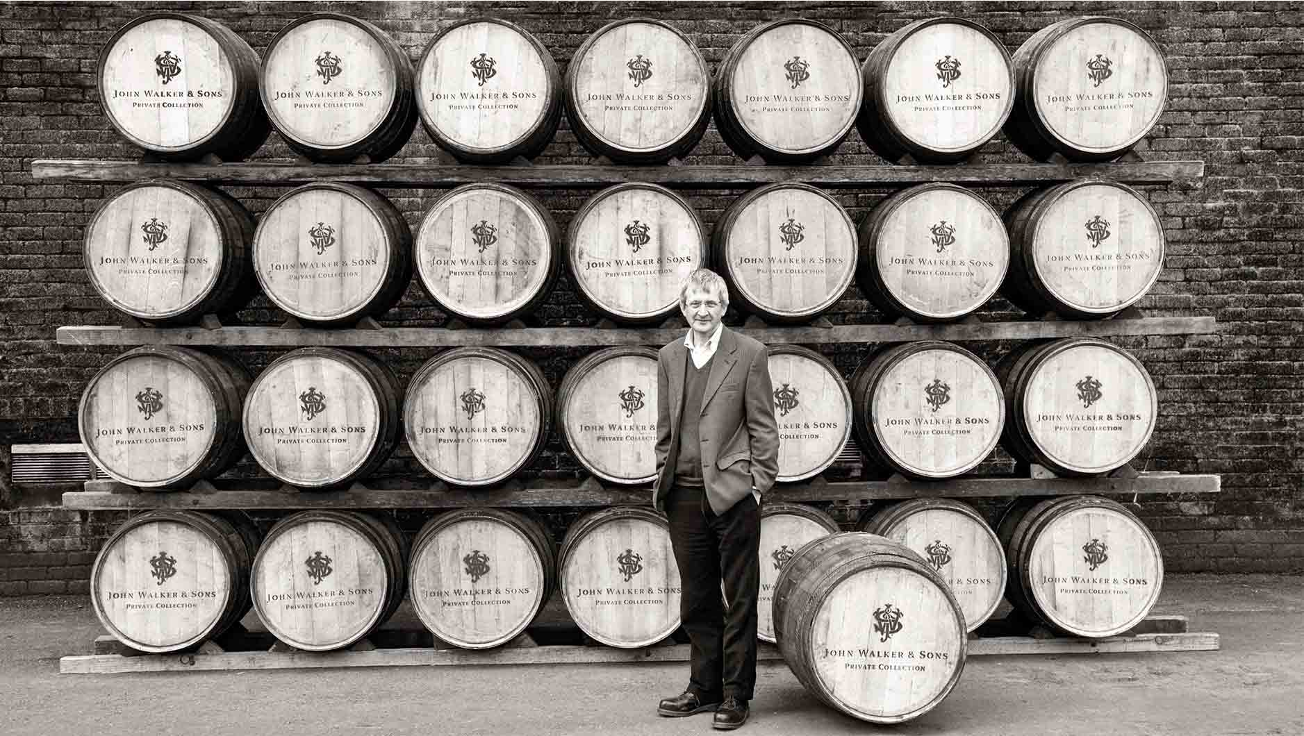 Jim Beveridge and John Walker & Sons Private Collection whisky casks