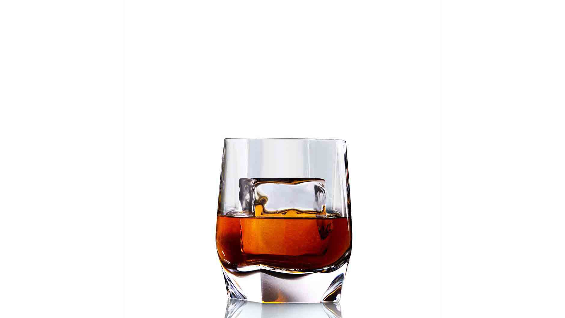 Johnnie Walker Blue Label The Gentleman's Wager in a tumbler