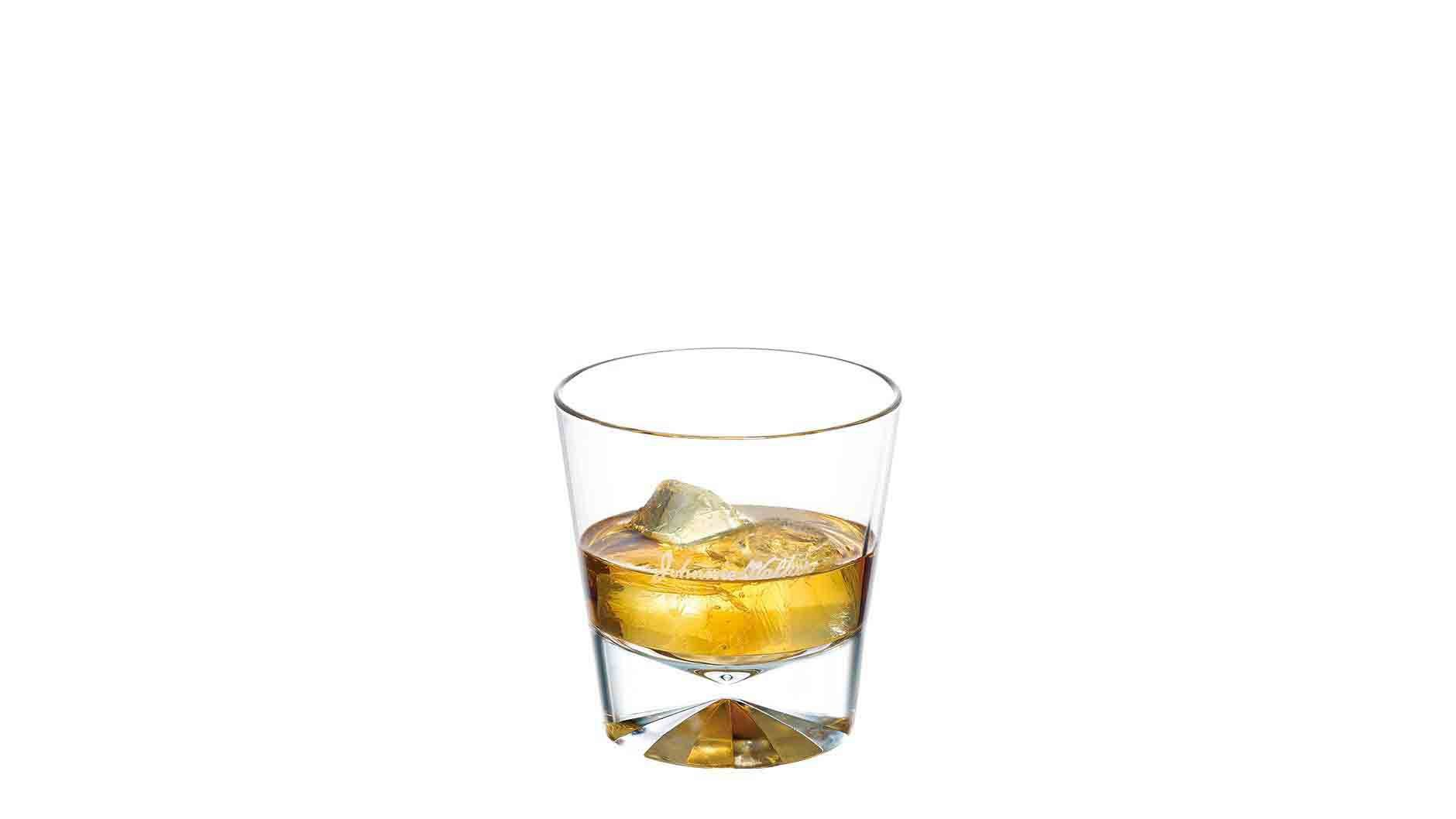 johnnie walker double black on the rocks