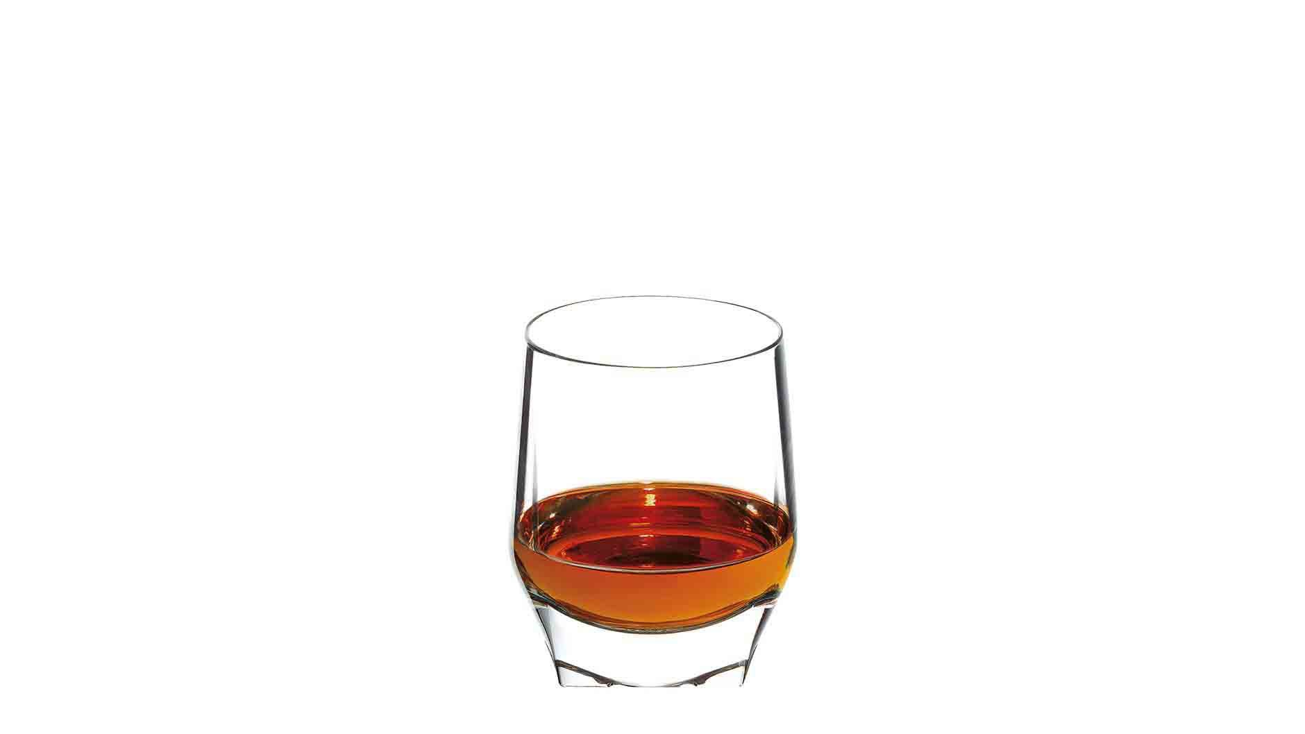 The John Walker Perfect Serve in a tumbler