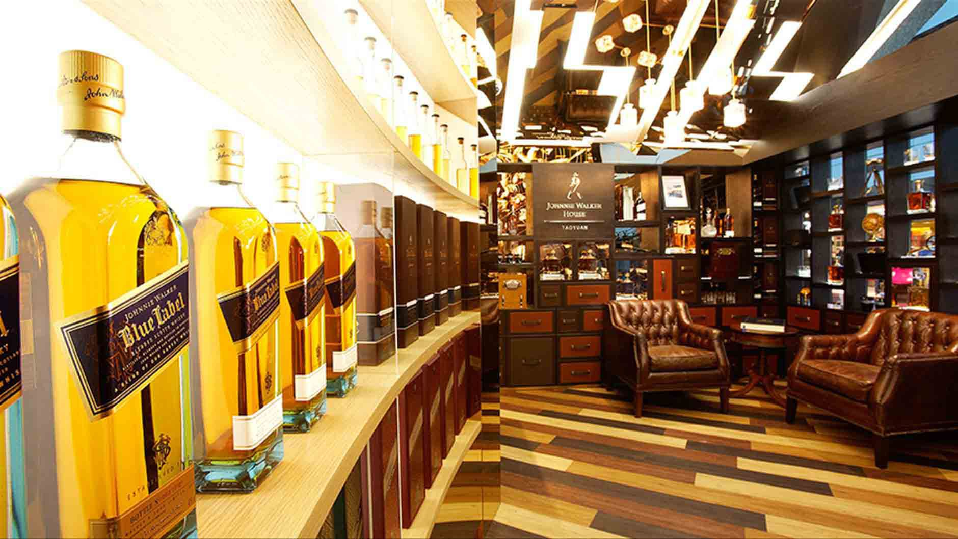 Johnnie Walker House Taoyuan Airport