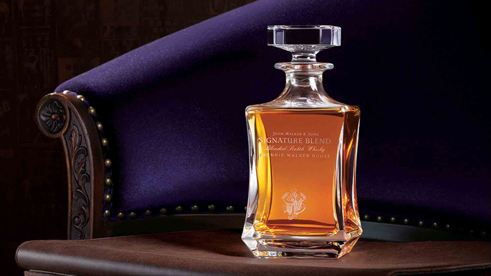 Bottle of John Walker & Sons Signature Blend