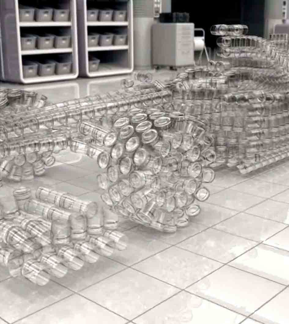 Glass car