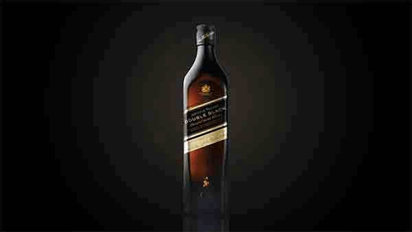 Bottle of Johnnie Walker Double Black whisky