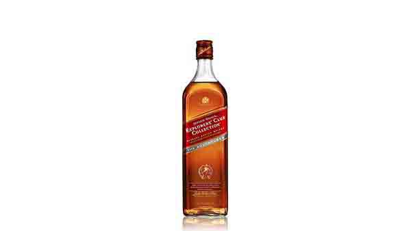 Botella de whisky Johnnie Walker Explorers' Club Collection - The Adventurer