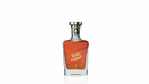 Bottle of John Walker & Sons King George V whisky
