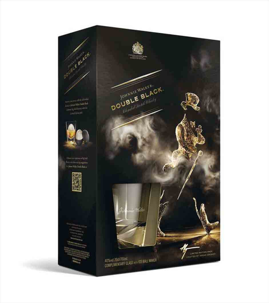 double black gift johnnie walker