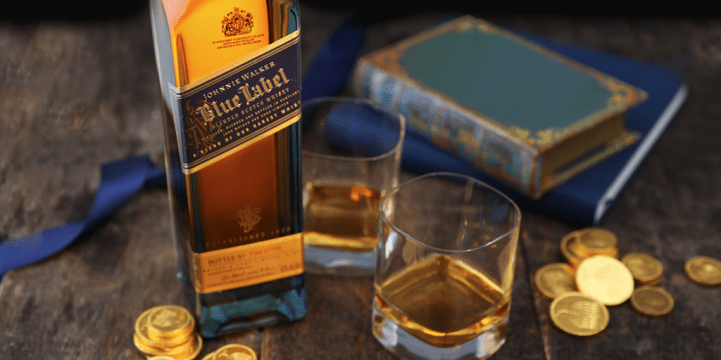 Hanukkah Johnnie Walker Scotch Whisky Gift