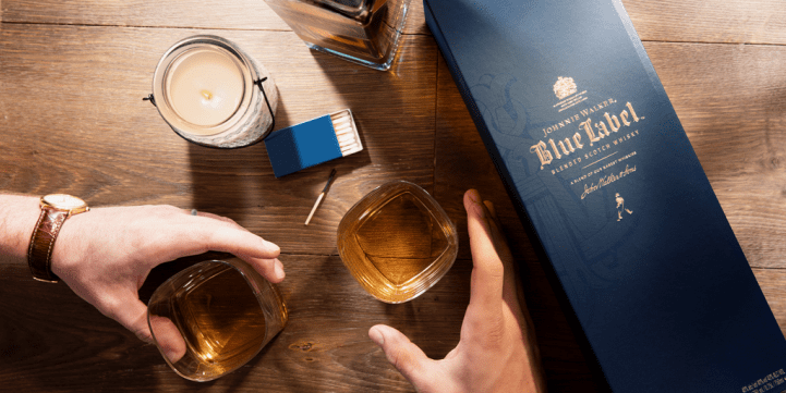 Father's Day Johnnie Walker Scotch Whisky Gift