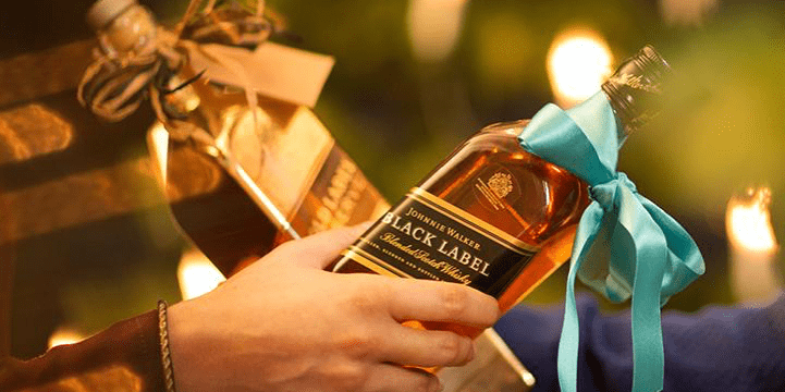 History of Gifting Johnnie Walker Scotch Whisky Since 1820