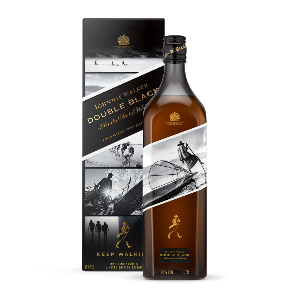 JW Double Black Box Bottle