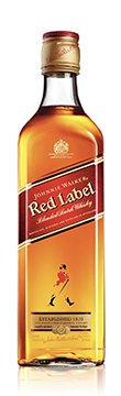 Johnnie Walker Red 750ml bottle Front LR