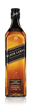 Johnnie Walker Black 750ml bottle front HR