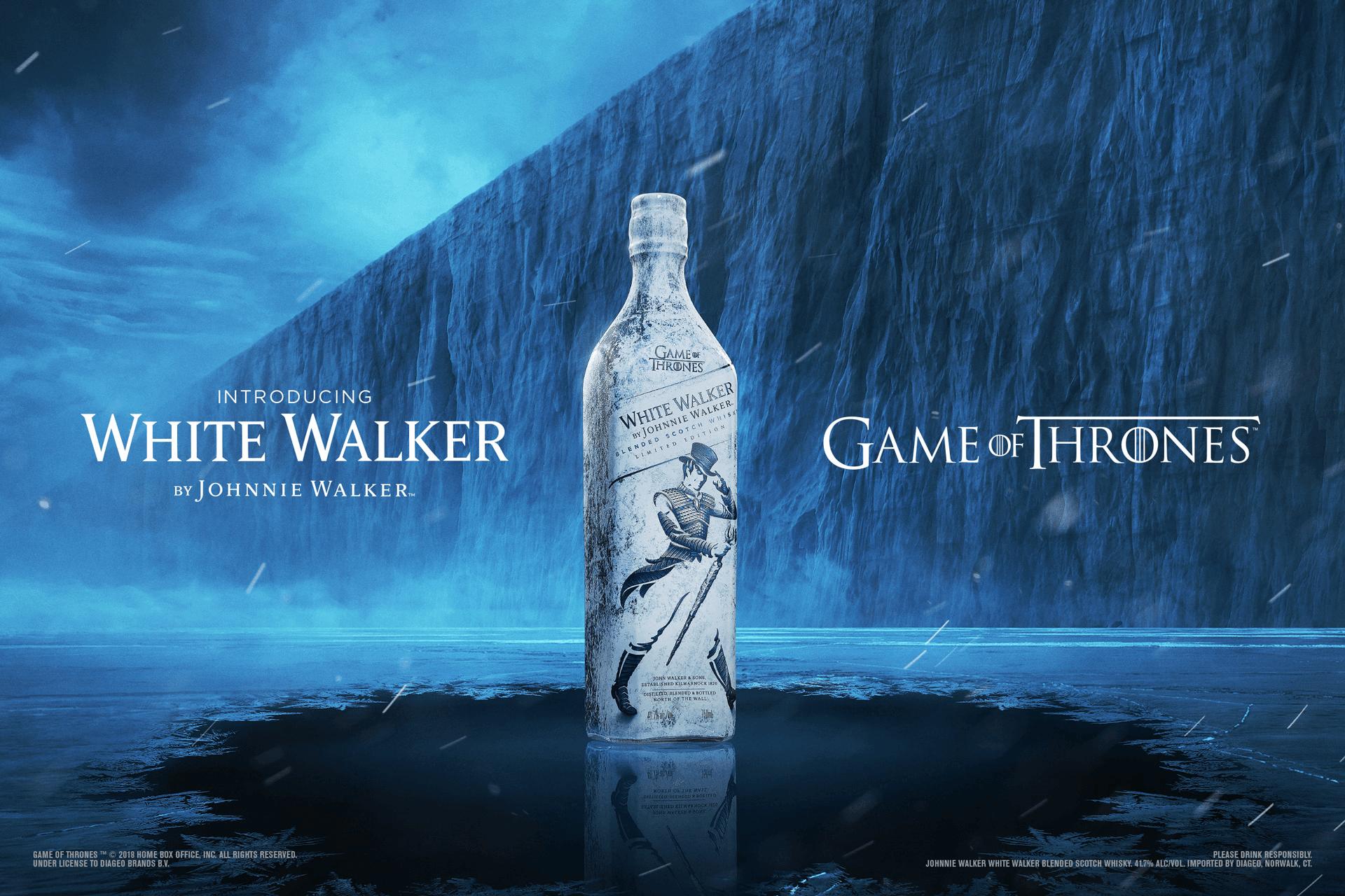 White Walker Johnnie Walker Scotch Whisky