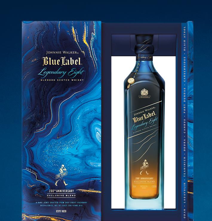 Johnnie Walker Blue Label Legendary Eight 200th Anniversary   Limited  Edition   Johnnie Walker